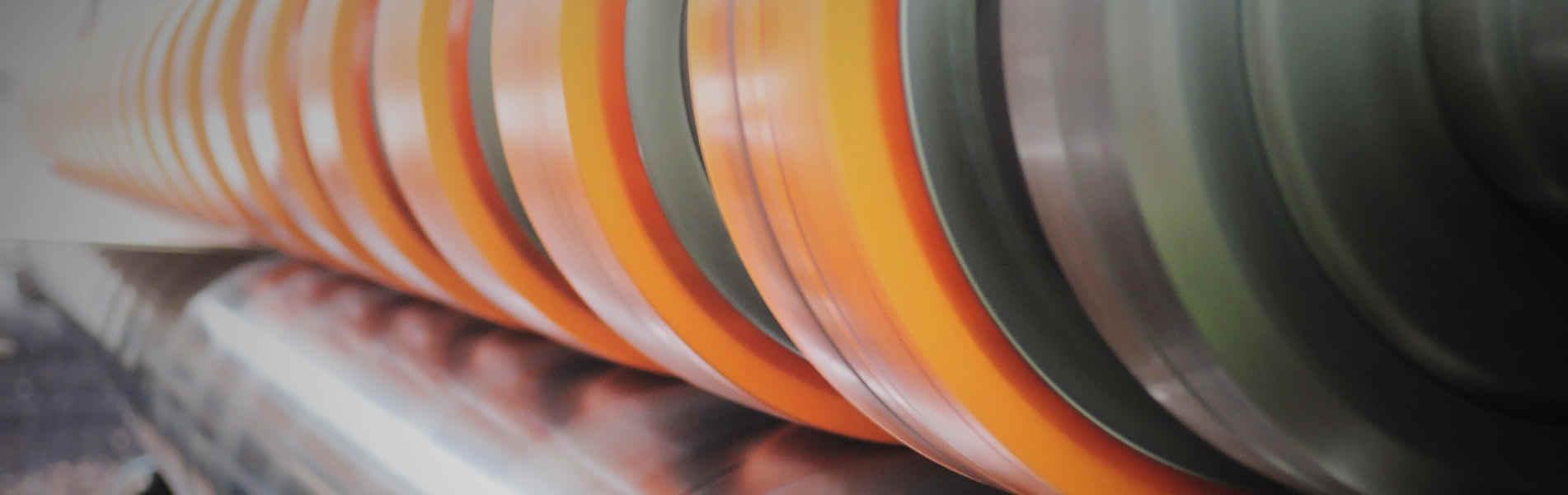 Corrugating line re-installation