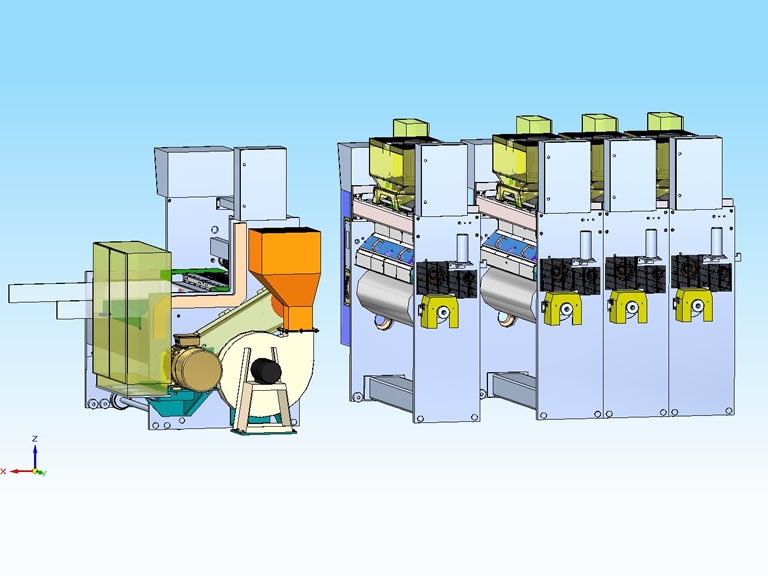 Retrofitt de de máquina Impresora Flexografica Cavifes