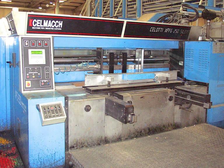 Sustitución del rodillo de goma por una cámara de doble rasqueta en impresoras CELMACCH