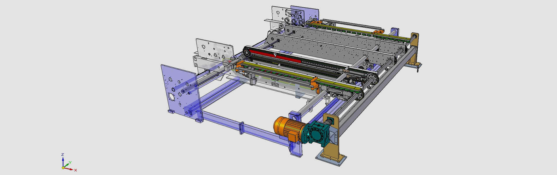 Tailored made machines for the corrugated industry