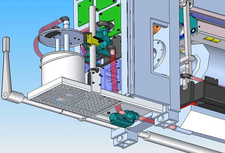 Acorsys performs the standard retrofit ink system and automatic washing